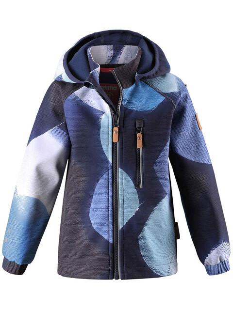 Reima Kids Vantti Softshell Jacket Navy